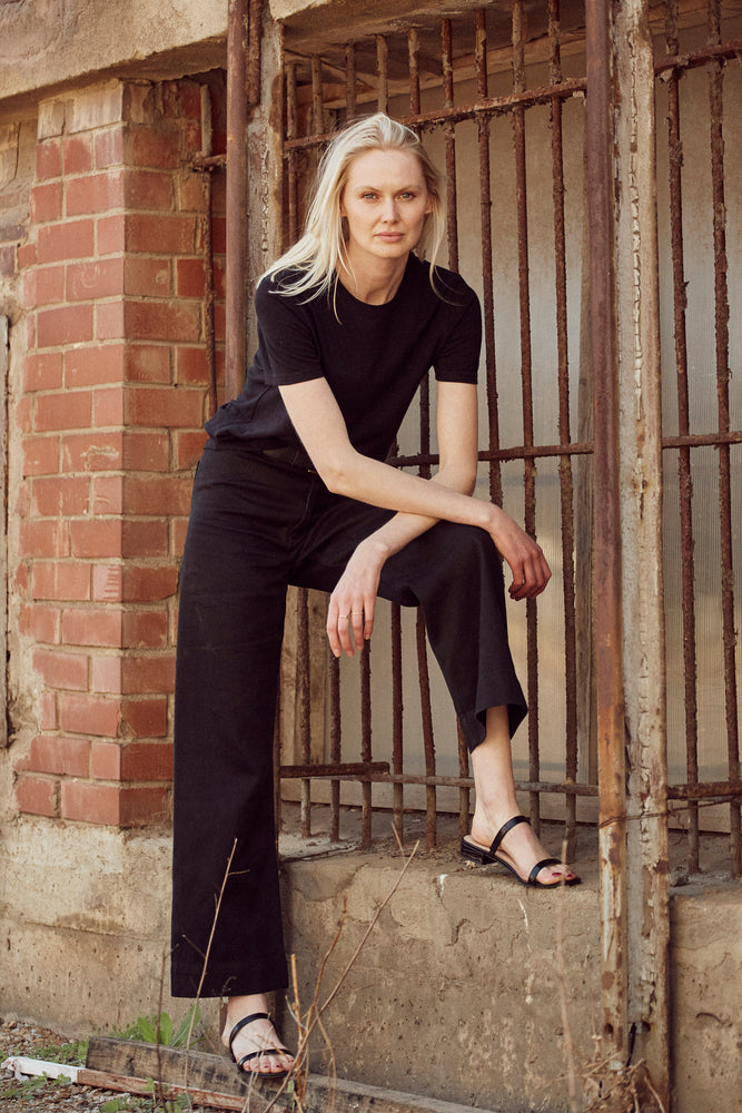 Hemp Clothing Australia - Newport Pant - Black