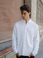 Hemp Clothing Australia - Oxford Shirt in White