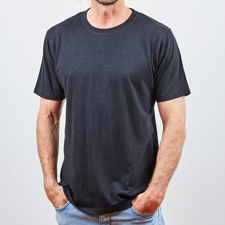 Hemp clothing Australia - Classic T-Shirt Black