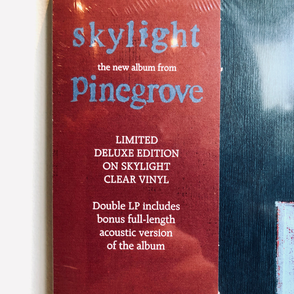 Pinegrove - Skylight. 2LP (Limited Deluxe Edition on Skylight Clear Vinyl)