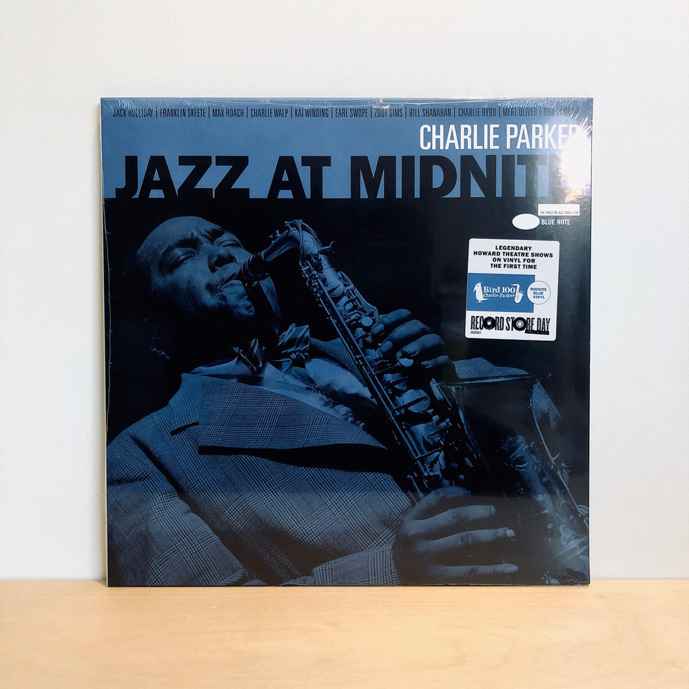 RSD DROPS 1 - Charlie Parker - Jazz At Midnight. LP [Ltd Ed. Midnight Blue Vinyl]