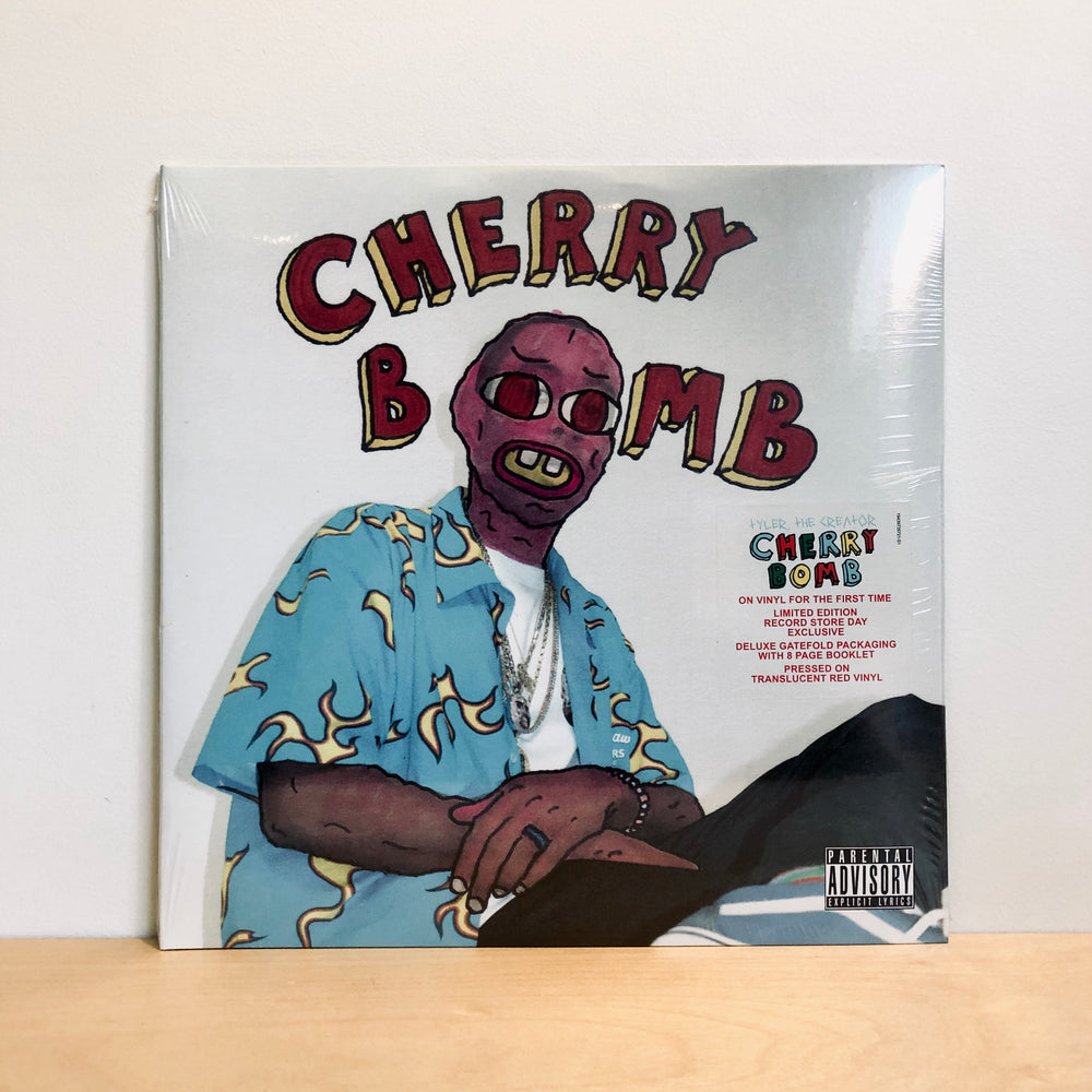 RSD DROPS 1 - Tyler The Creator - Cherry Bomb . 2LP (Ltd Ed. 7500 copies on Red Transparent Vinyl)