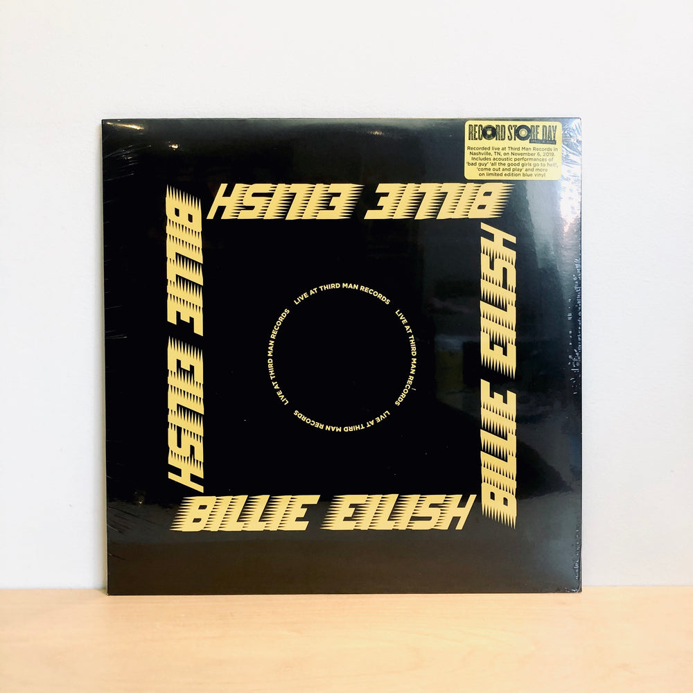 RSD DROPS 1 - Billie Eilish - Live At Third Man Records. LP [Ltd Ed. Opaque Blue Vinyl w/ Poster]