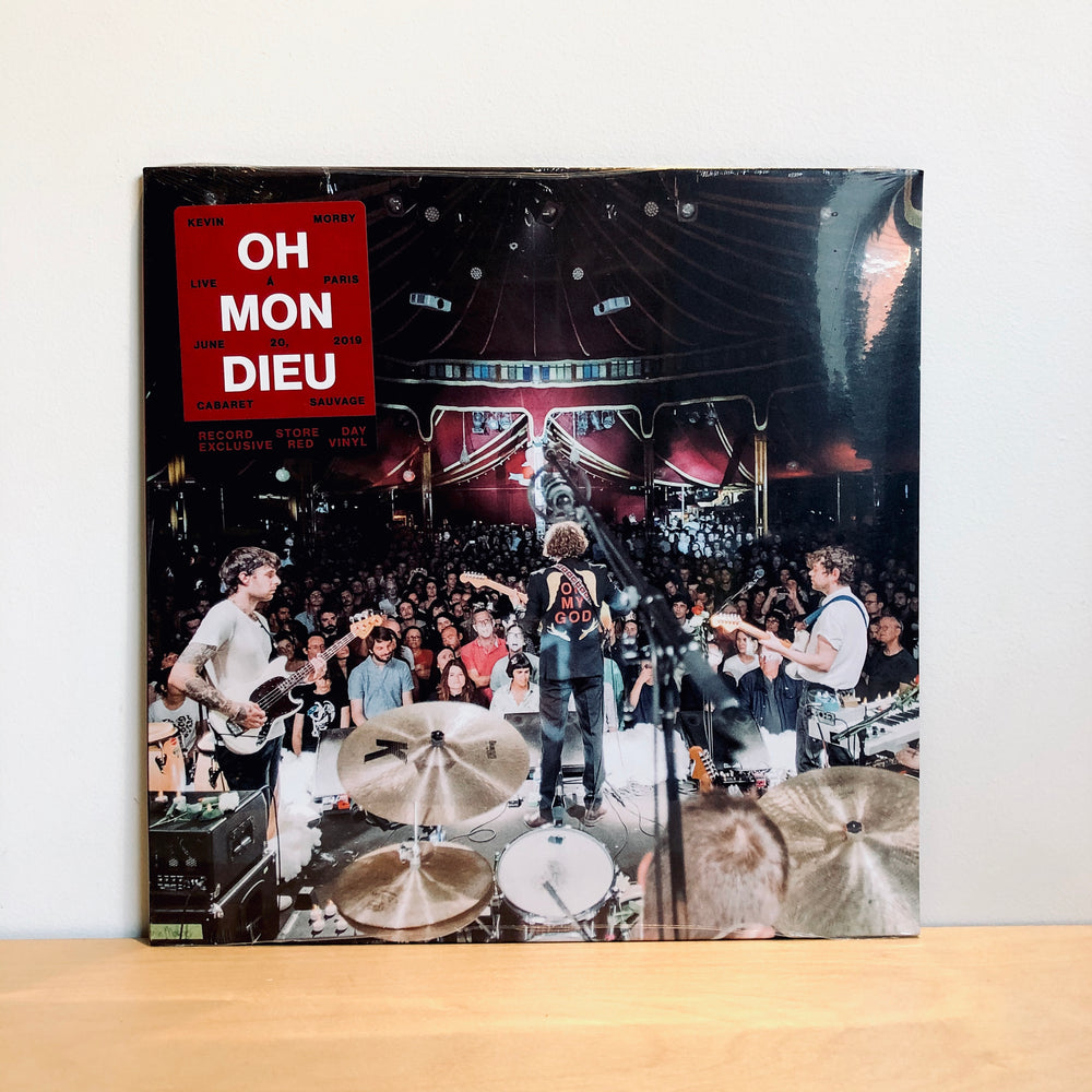 RSD DROPS 1 - Kevin Morby - Oh Mon Dieu: Live In Paris. 2LP [Ltd Ed. Red Vinyl]