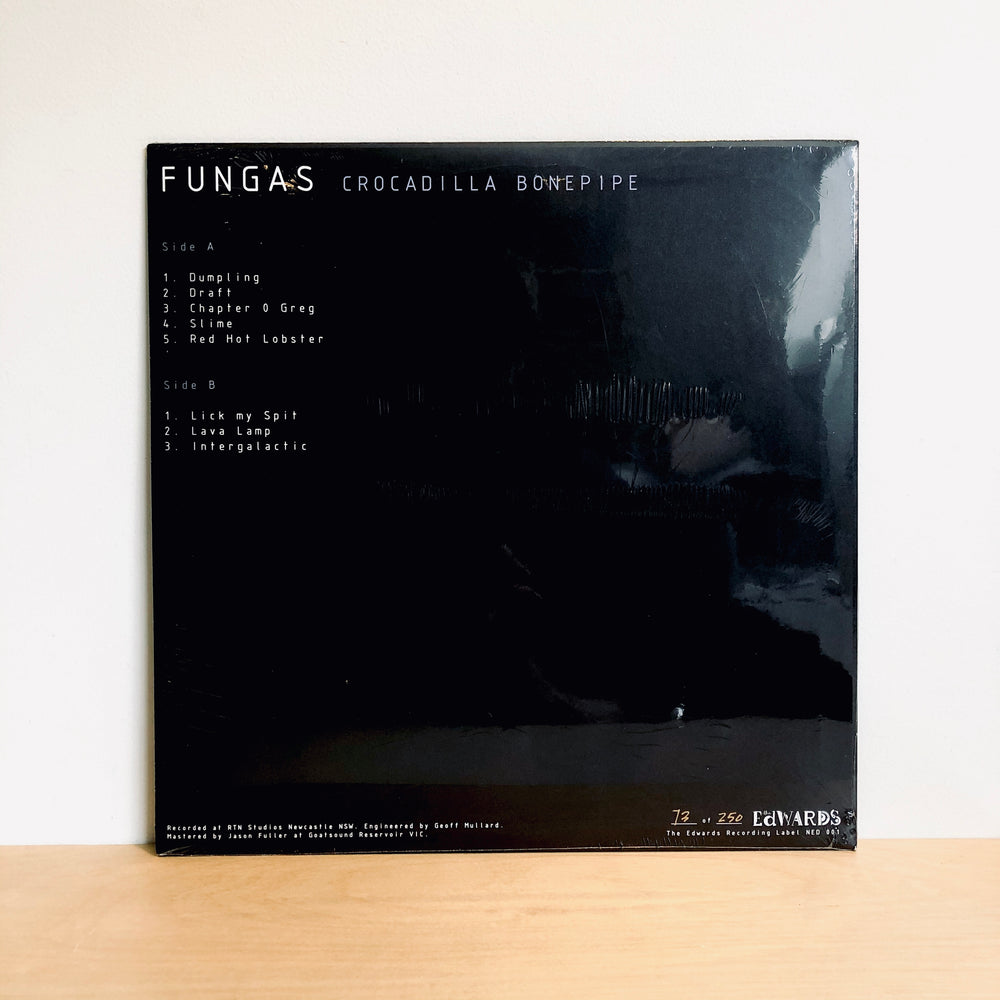 Fungas - Crocadilla Bonepipe. LP [First Pressing of 250 on Black Matter Vinyl]