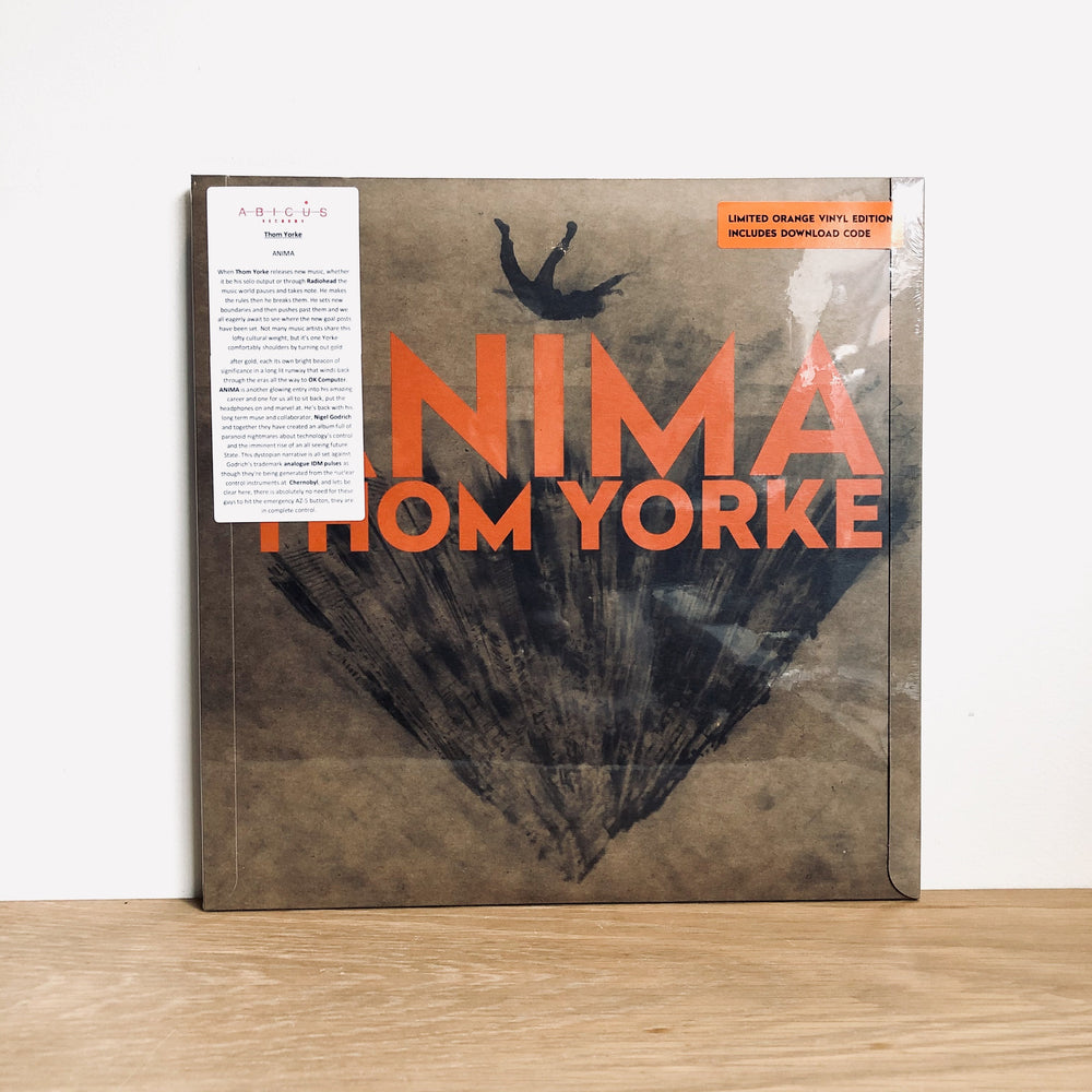 Thom Yorke - Anima. LP [Indie Exclusive Orange Vinyl]