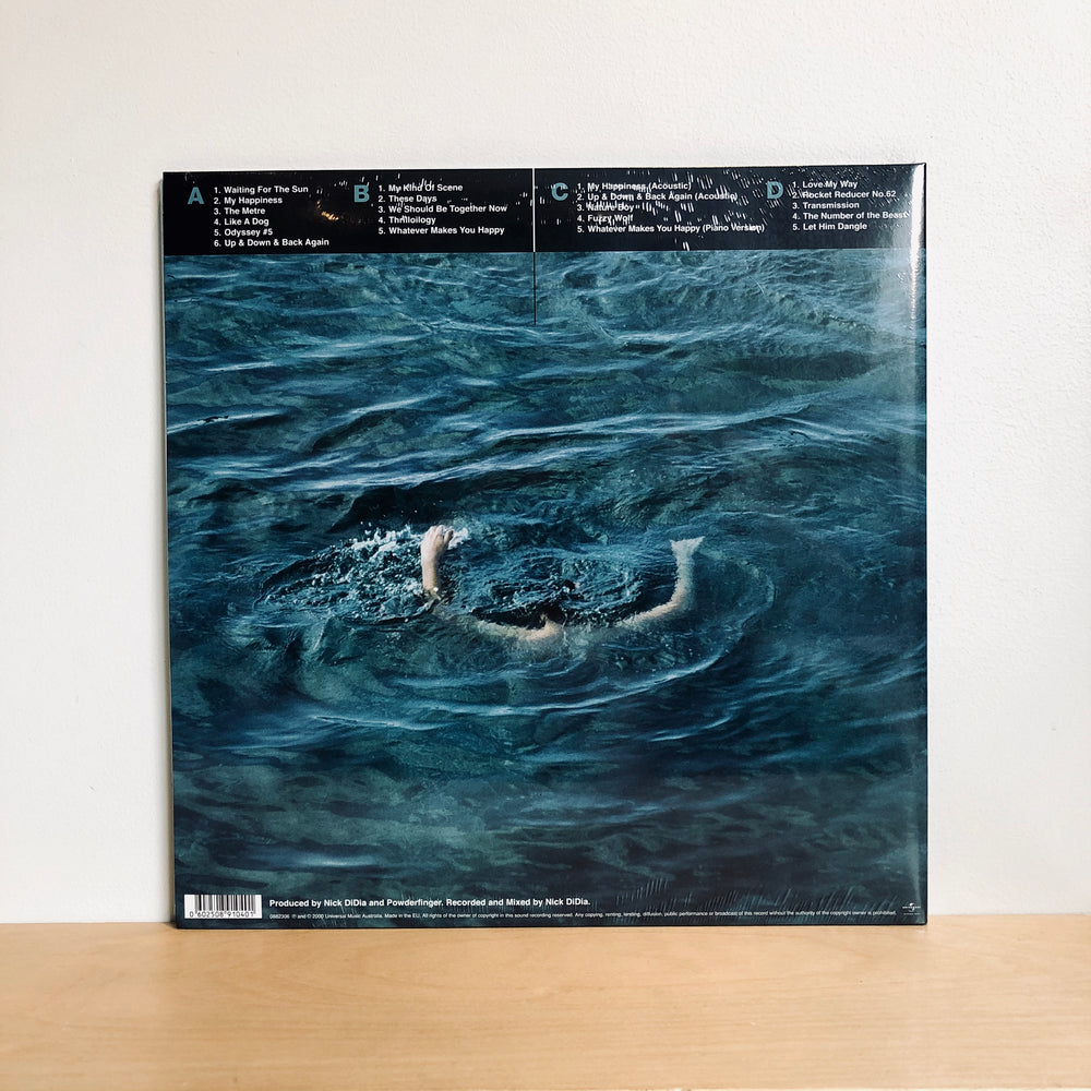 Powderfinger - Odyssey Number Five. 2LP [Deluxe Edition Sea Blue / Milky Clear 180g Vinyl]
