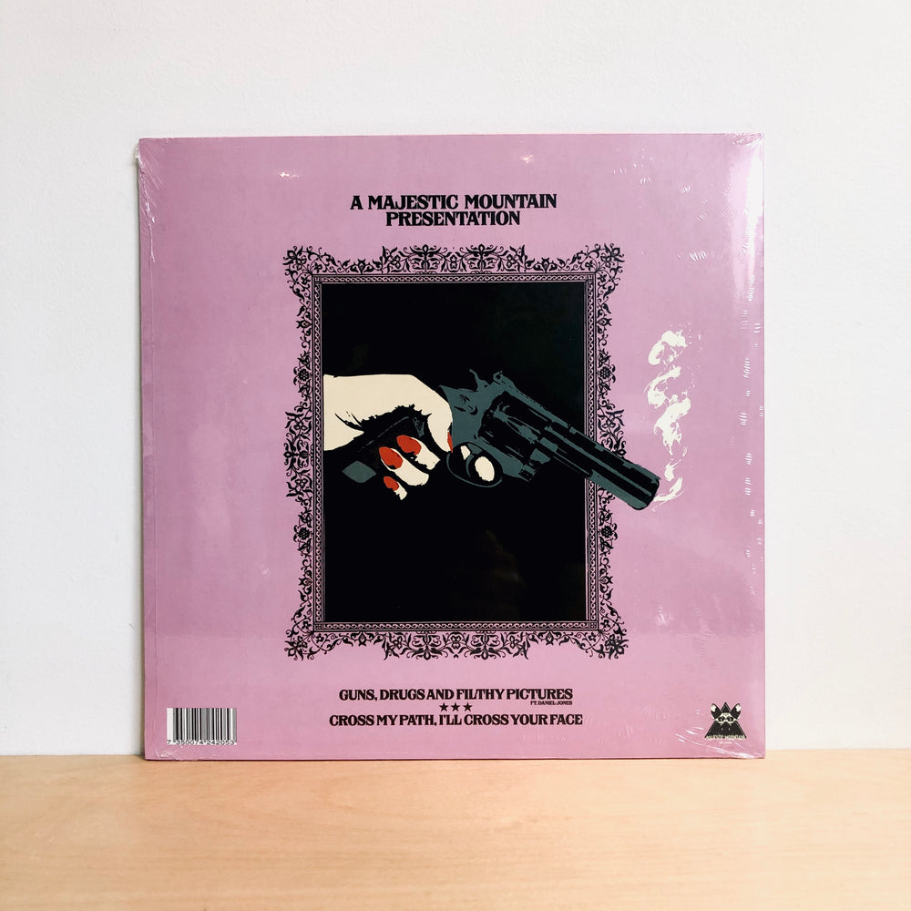 "RSD DROPS 2 - Devils  Witches - Guns, Drugs and Filthy Pictures. 10"" [Ltd Ed. Magenta & Black Splatter Vinyl)"