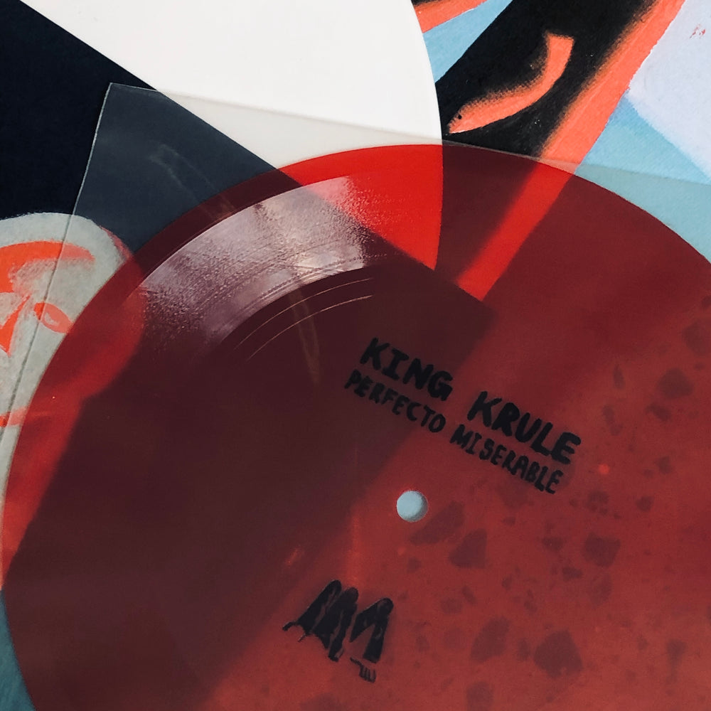 King Krule - Man Alive. LP [Indies Only Ltd First Pressing White Vinyl + Flexi Disc]