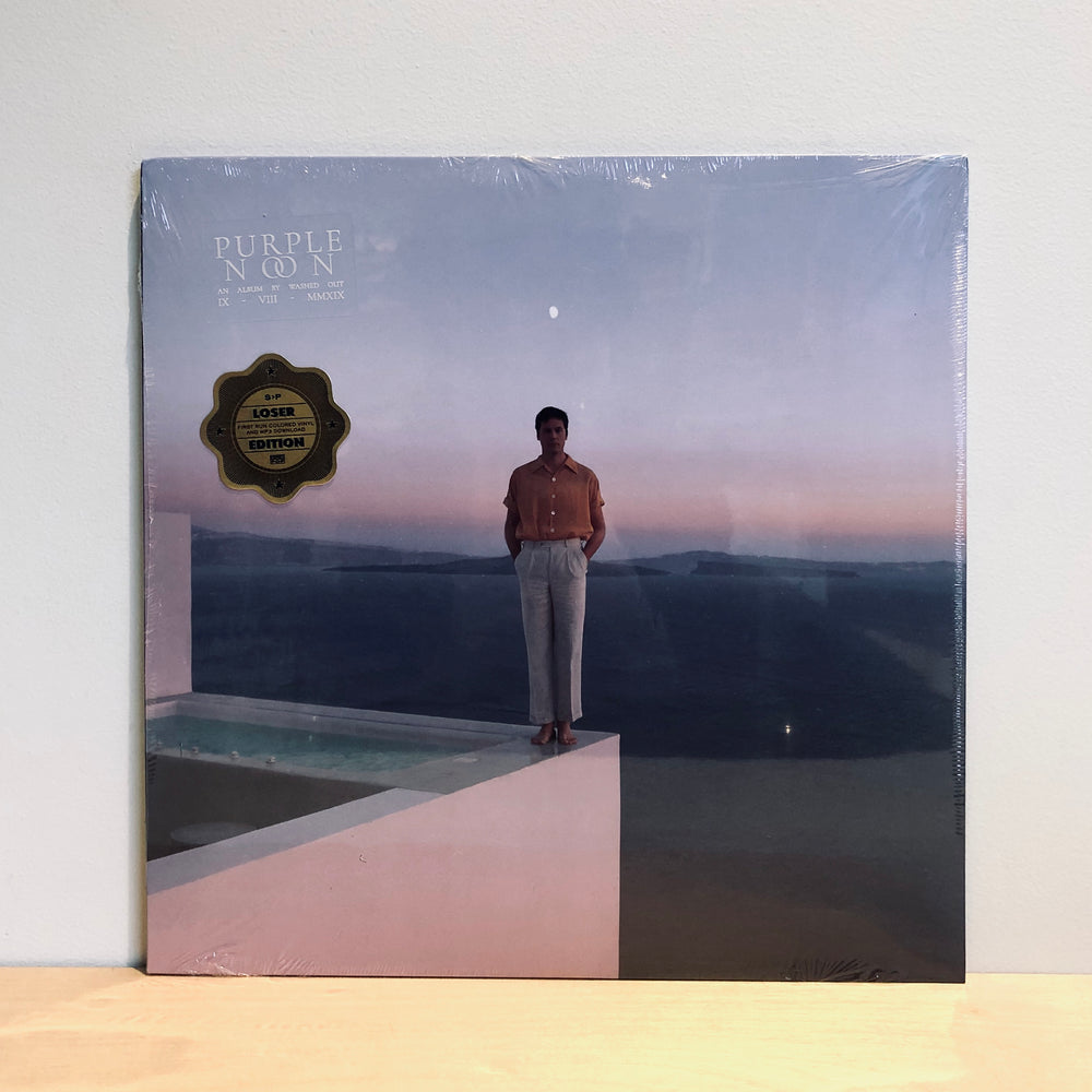 Washed Out - Purple Noon. LP [Indie Exclusive Vinyl Edition]