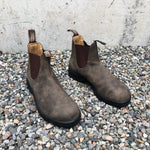 Blundstone - 585 Elastic Sided V Cut Boot Rustic Brown