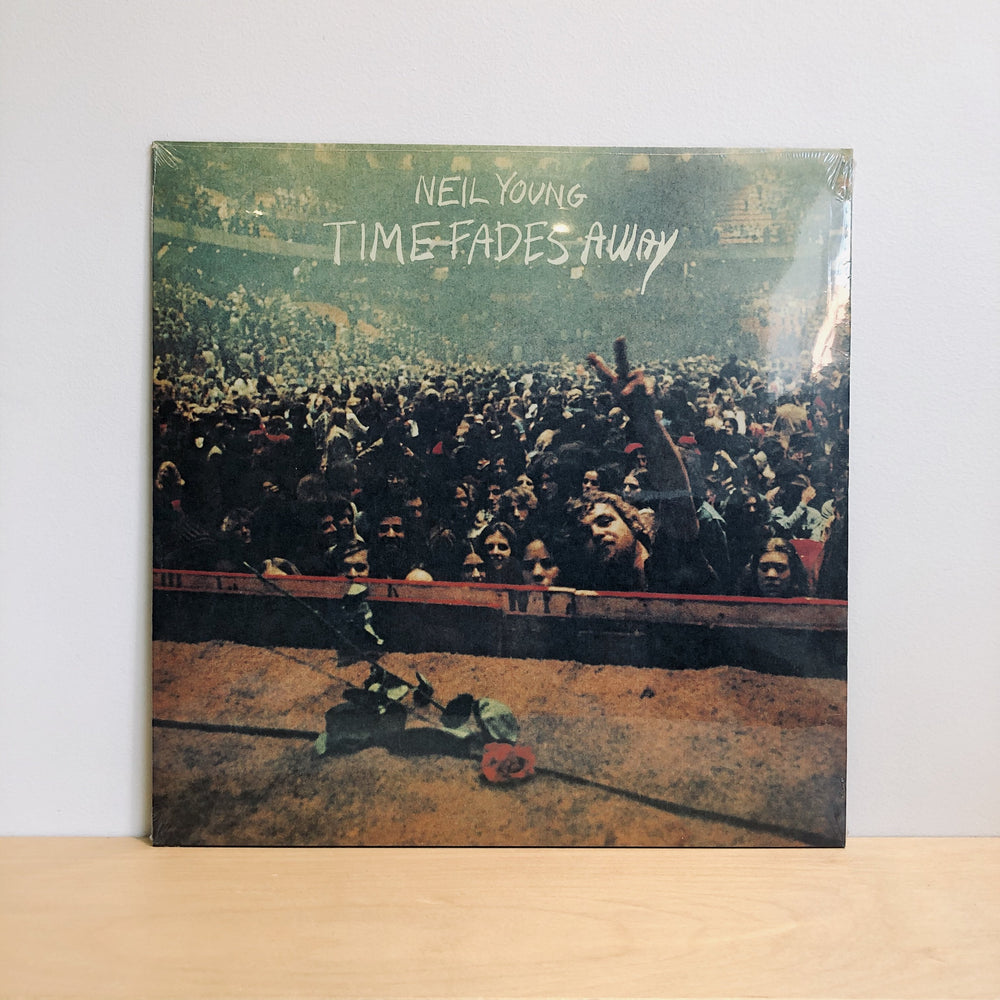 Neil Young - Time Fades Away. LP (Live 1973)