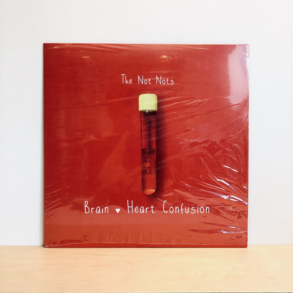 The Not Nots - Brain heart Confusion. LP [Newcastle]