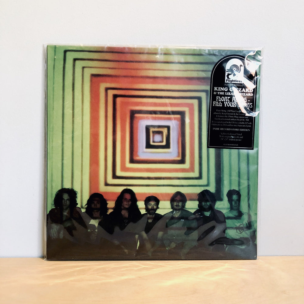 King Gizzard & The Lizard Wizard - Float Along Fill Your Lungs. [Limited Edition Easter Yellow Vinyl - Reissue]
