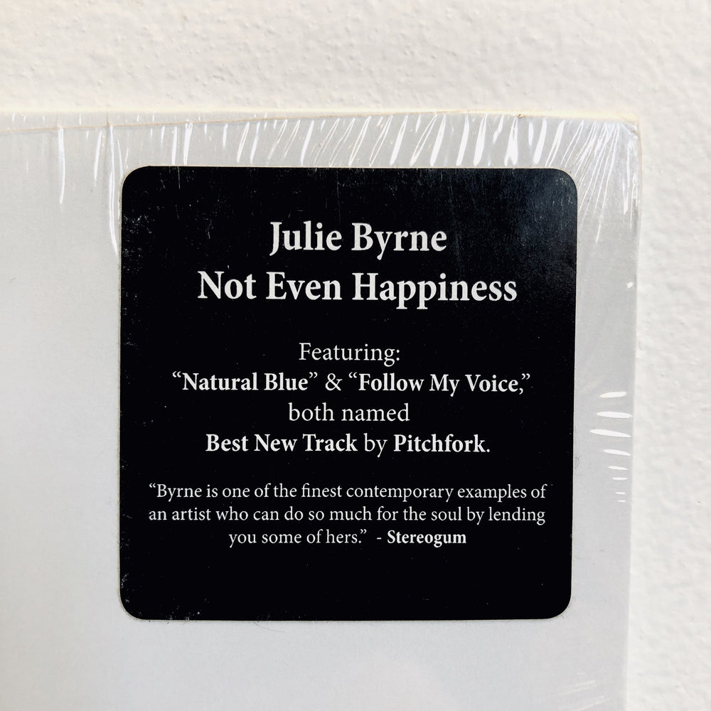 Julie Byrne - Not Even Happiness. LP