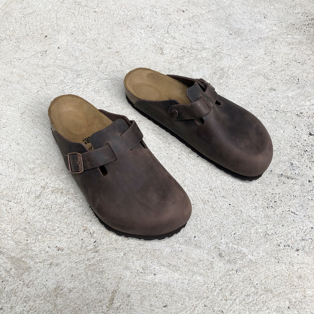 Birkenstock - Boston - Oiled Natural Leather - Habana - Regular