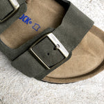 Birkenstock - Arizona SFD Suede - Forest - Regular