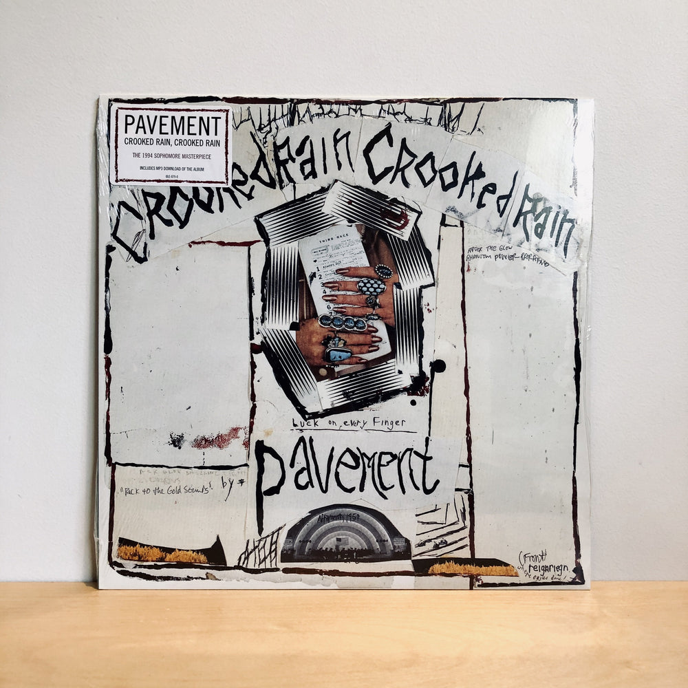 Pavement - Crooked Rain, Crooked Rain. LP