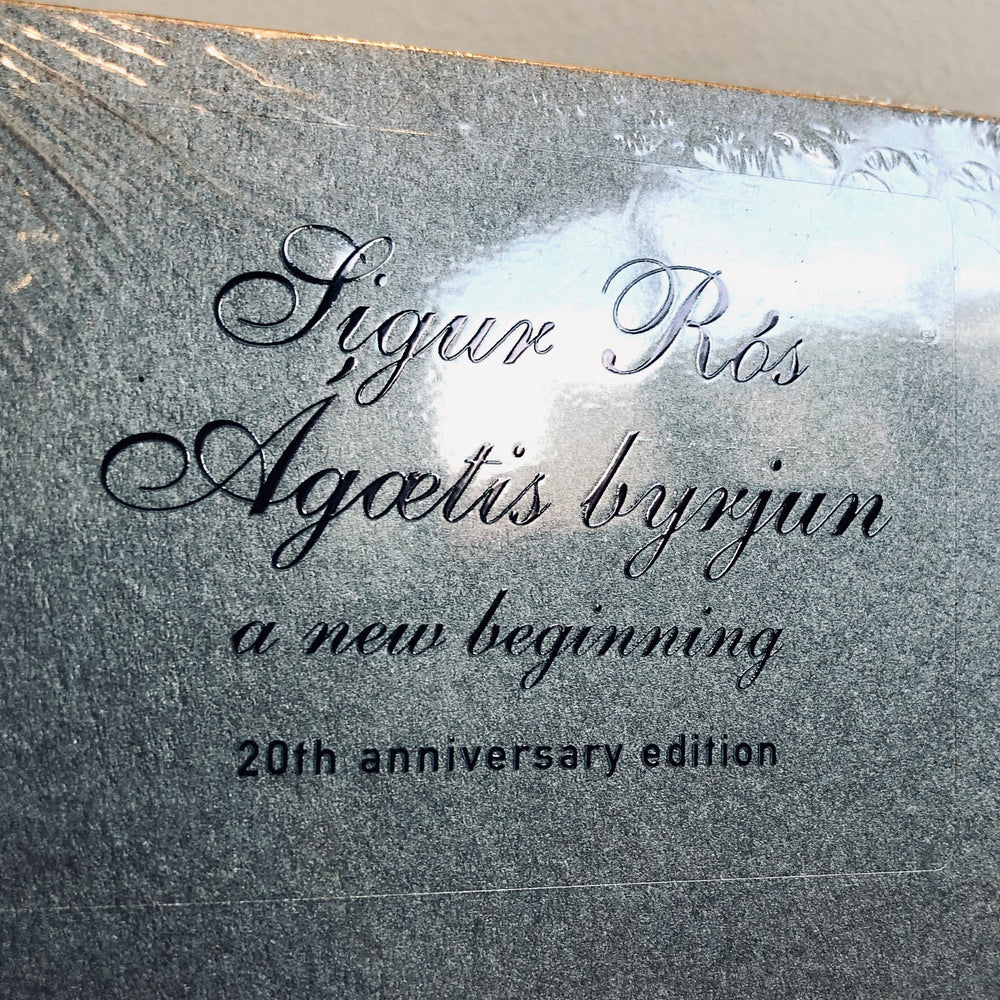 Sigur Ros - Agaetis Byrjun - A Good beginning. 2LP [20th Anniversary Edition]