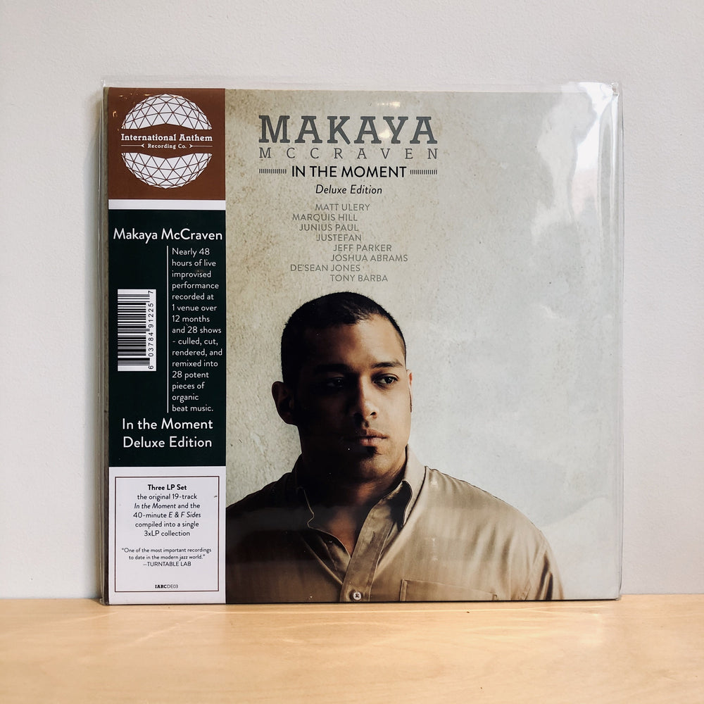 Makaya McCraven - In The Moment Deluxe Edition. 3LP