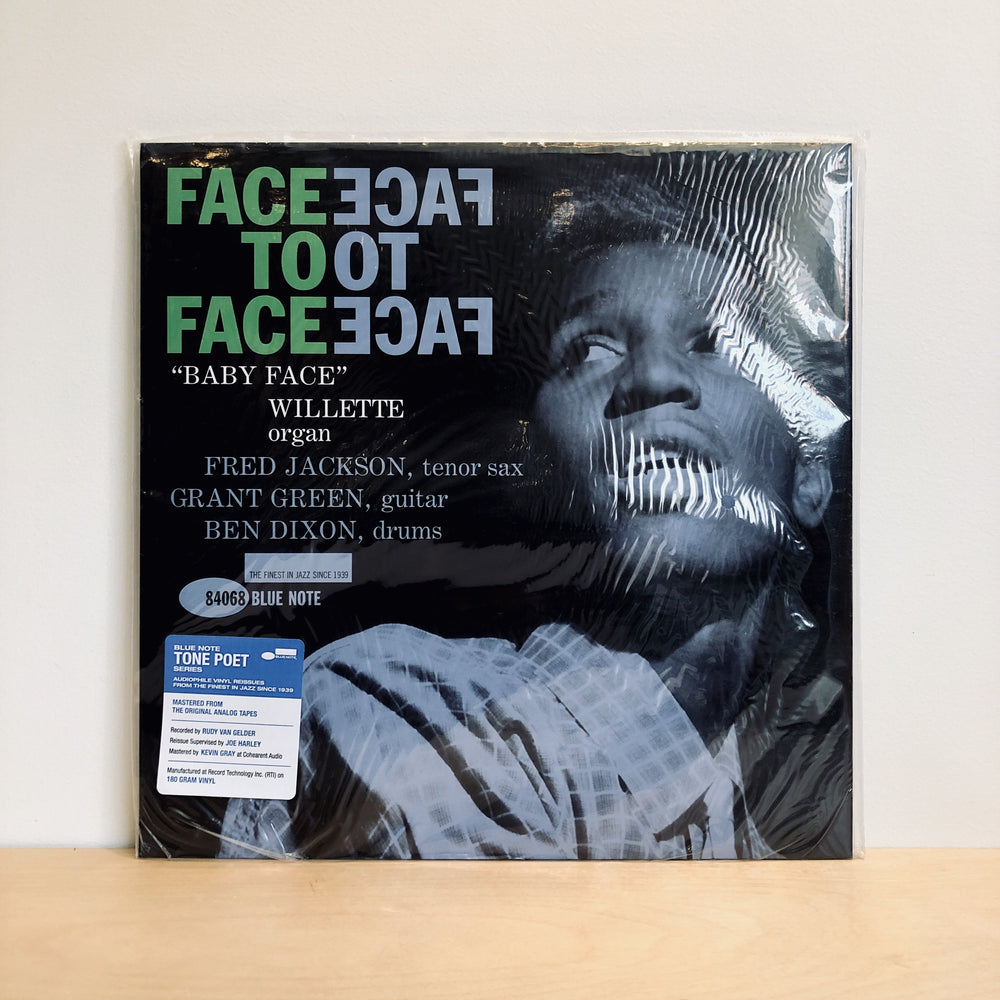 Baby Face Willette Quartet - Face To Face. LP [AUDIOPHILE GRADE PRESSING]