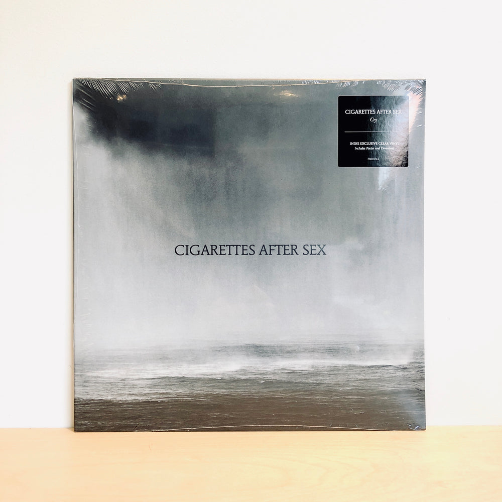 Cigarettes After Sex - Cry. LP [Indies Only Clear Vinyl]