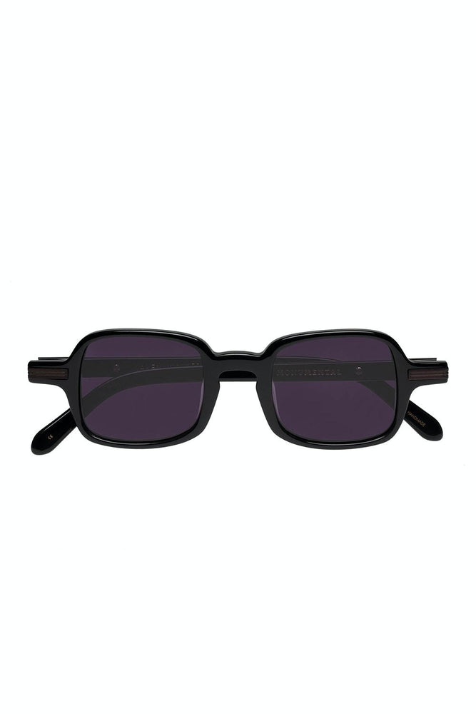 Karen Walker - Fry Sunglasses in Smoke Mono