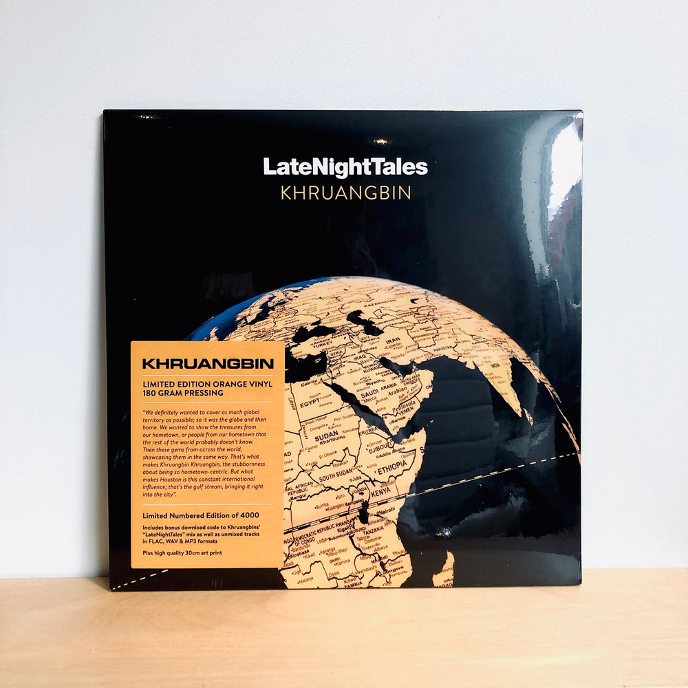 Khruangbin - Late Night Tales. LP [Ltd Ed. 180gram Orange Vinyl]