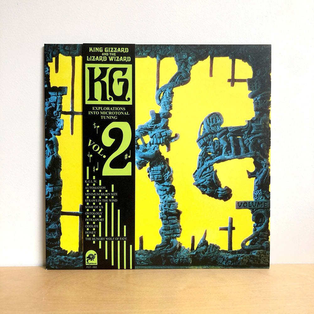 King Gizzard & The Lizard Wizard - K.G.  LP [Recycled Black Wax Edition]