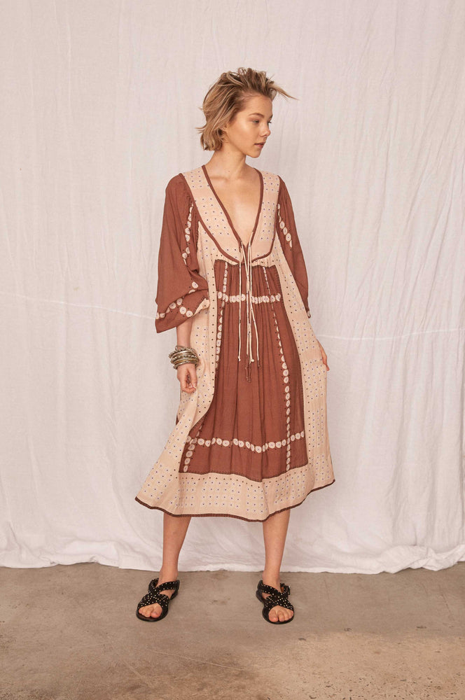 Kinga Csilla - Marrakech Dress in Cinnamon