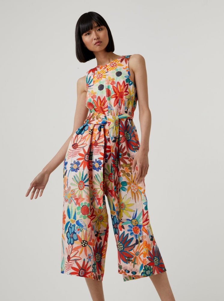 Kuwaii - Adelaide Jumpsuit in Kuwaii Print