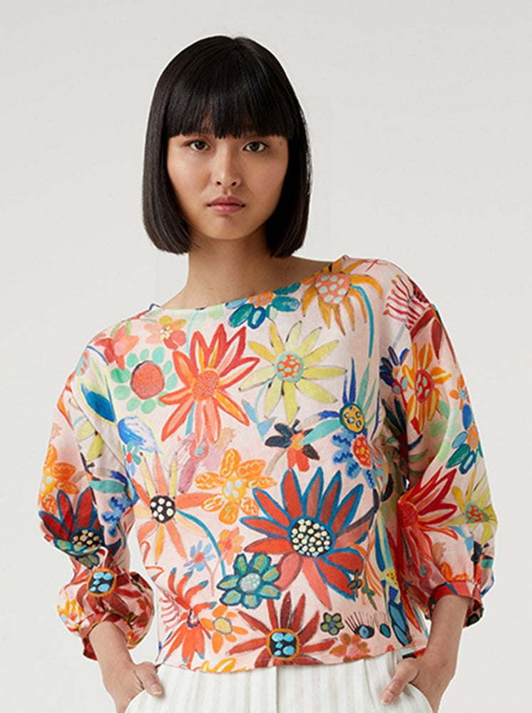 Kuwaii - Montana Top in Kuwaii Print