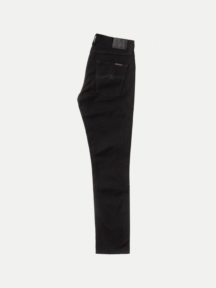 Nudie Lean Dean Jeans Black Dry Cold