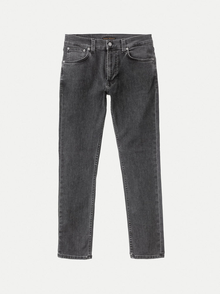 Nudie - Lean Dean Jeans in Grey Stardust