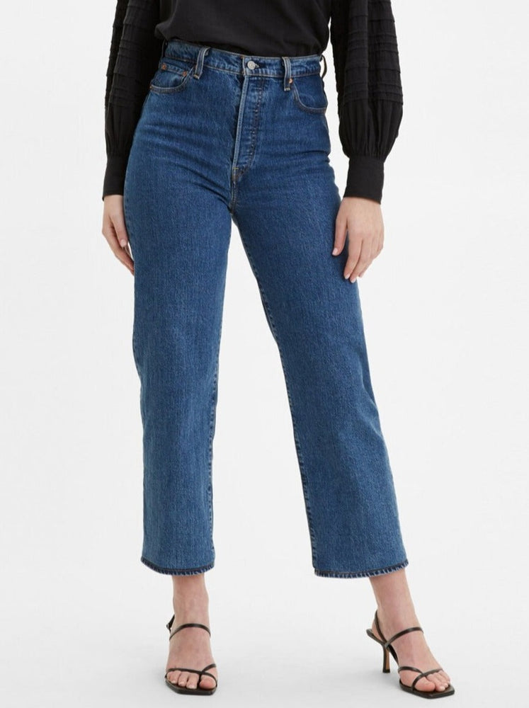 Levi's - Ribcage Straight Ankle Jeans in Georgie