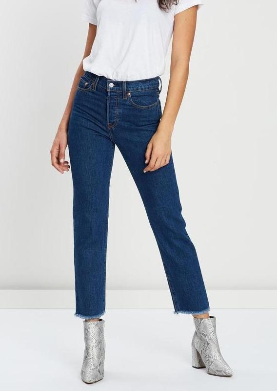 Levi's - Wedgie Jeans in Straight Below the Belt