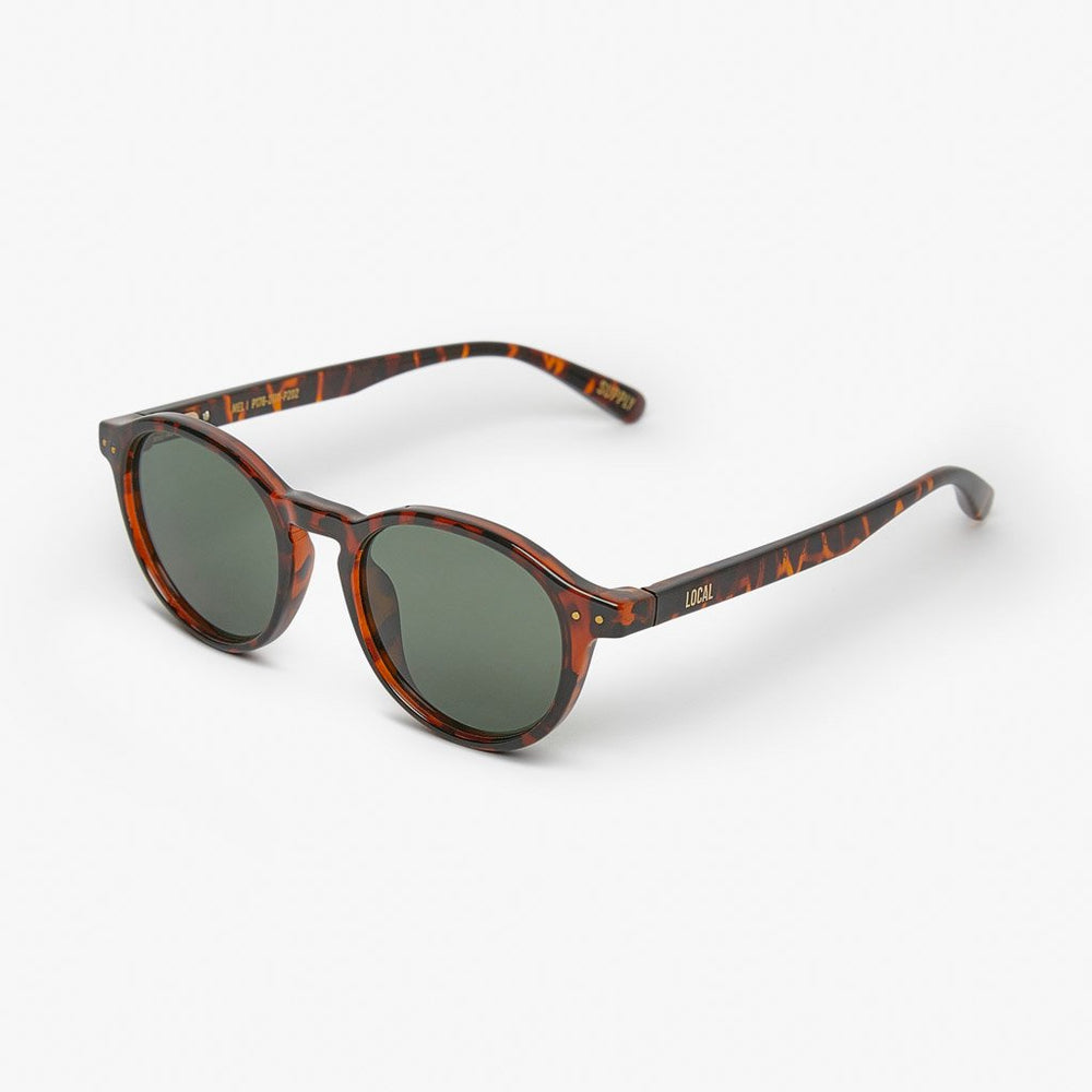 Local Supply - MEL - POLARIZED in Tort w/ Green Lens