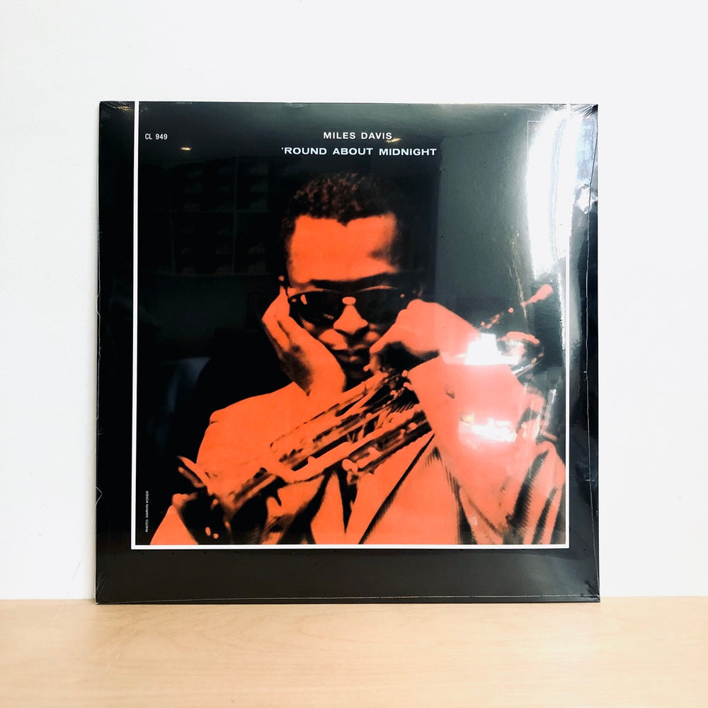 Miles Davis - Round About Midnight. LP