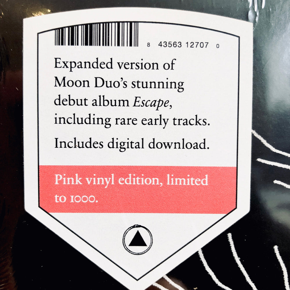 Moon Duo - Escape: Expanded Edition. LP [Limited Pink Vinyl]