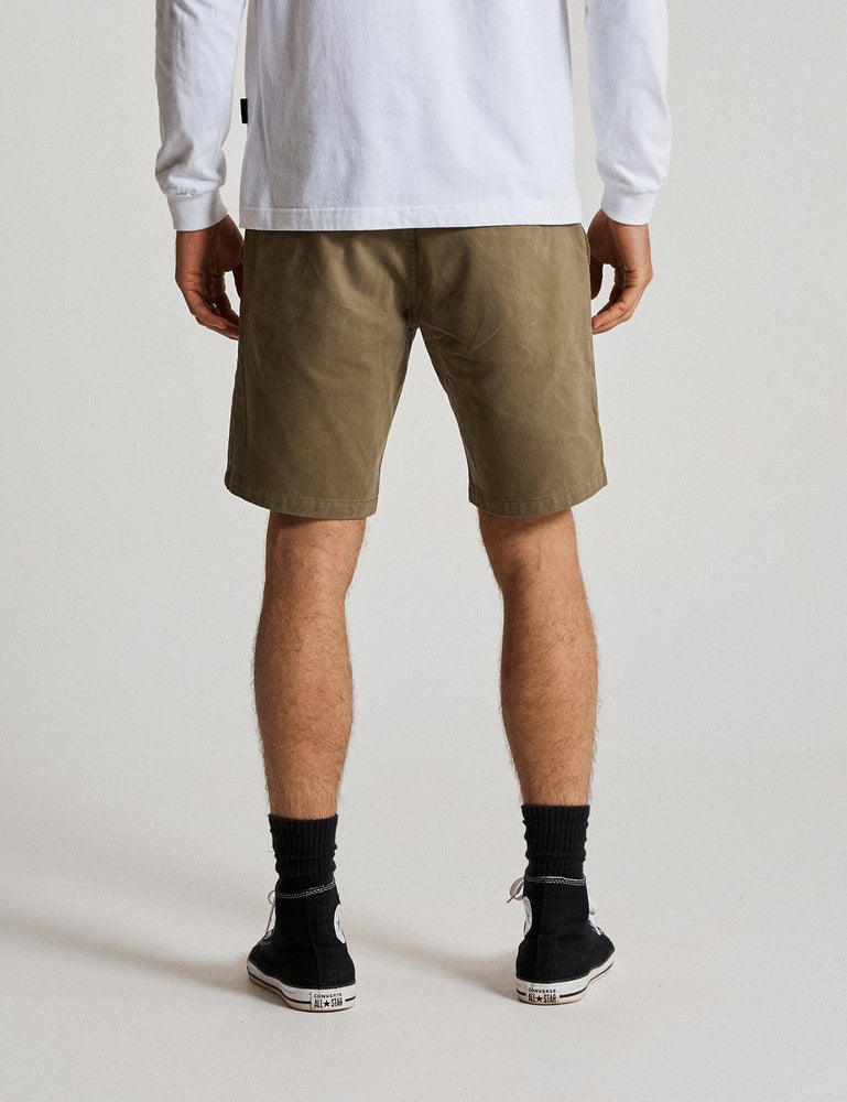 Mr Simple - Chino Short in Army