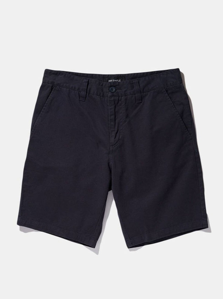 Mr Simple - Chino Short in Navy