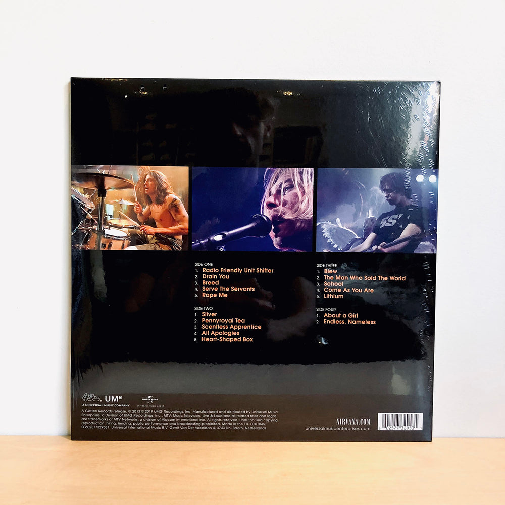 Nirvana - Live & Loud. 2LP