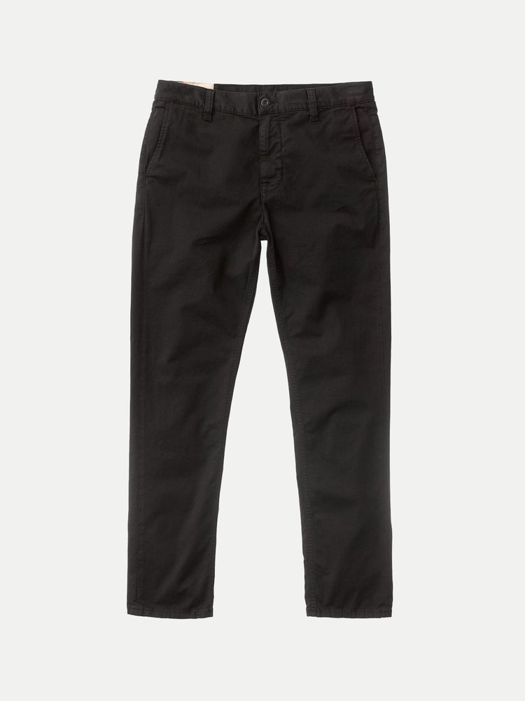 Nudie - Easy Alvin Chinos in Black