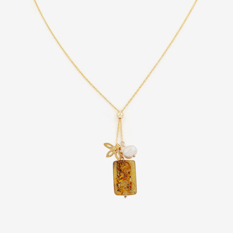 Petite Grand - Venice Cluster Necklace in Gold