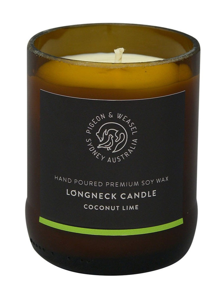 Pigeon & Weasel - Longneck Candle, Coconut Lime,
