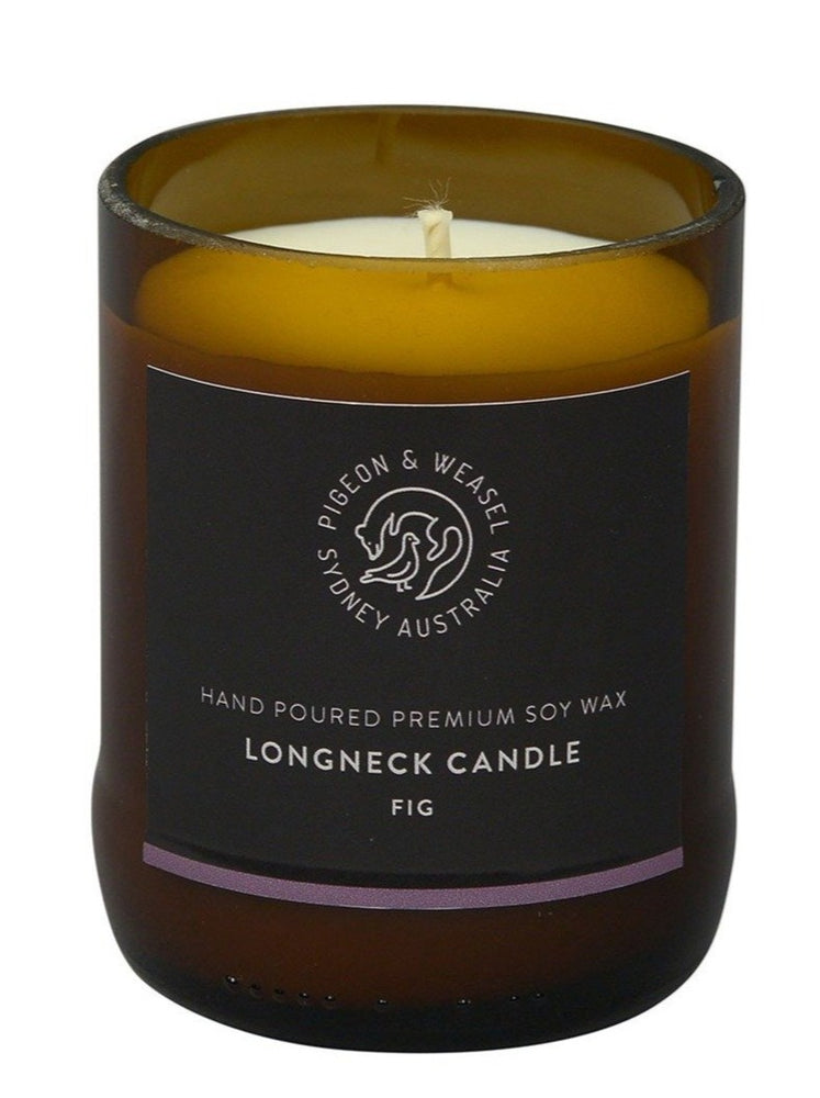 Pigeon & Weasel - Longneck Candle - Fig