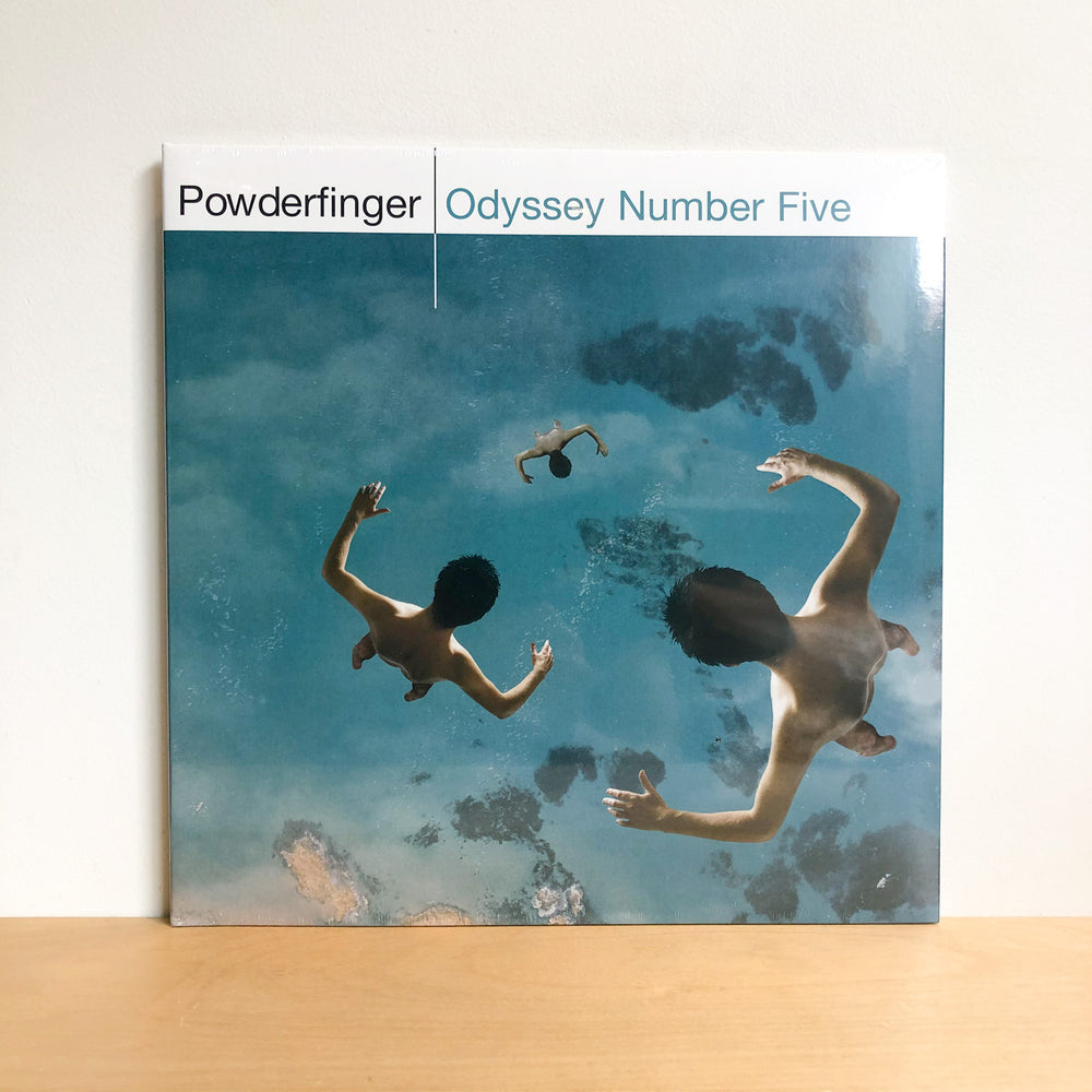Powderfinger - Odyssey Number Five. LP [Black Vinyl Edition]