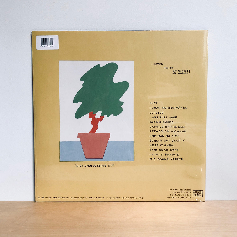 Parquet Courts - Human Performance. LP