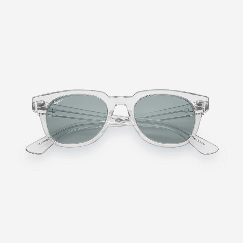 Ray-Ban - Meteor in Transparent with Blue Lenses