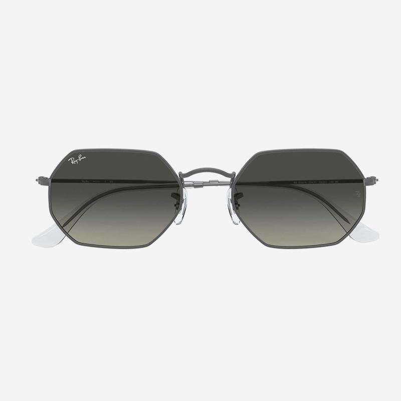 Ray-Ban - Octagonal Classic in Gunmetal w/ Grey Gradient Lenses